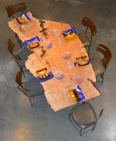 New York table set
